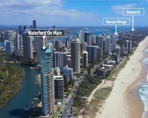 waterford-main-beach-gold-coast-aerial